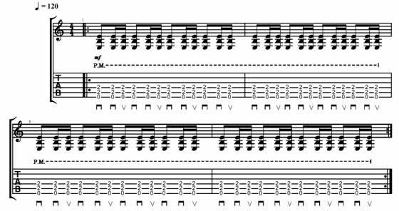 Guitar metal guitar tabs : Heavy Metal Gallop Rhythms on Guitar - Metal Rhythm Guitar Lesson