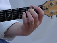 Em Basic Guitar Chord Picture - Front