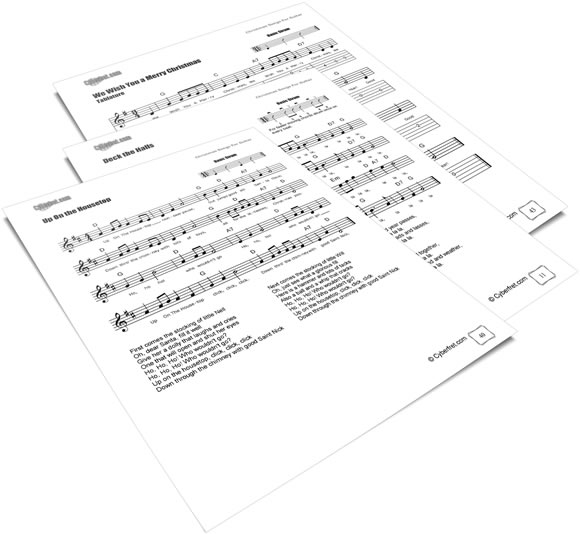 Christmas Guitar Sheet Music