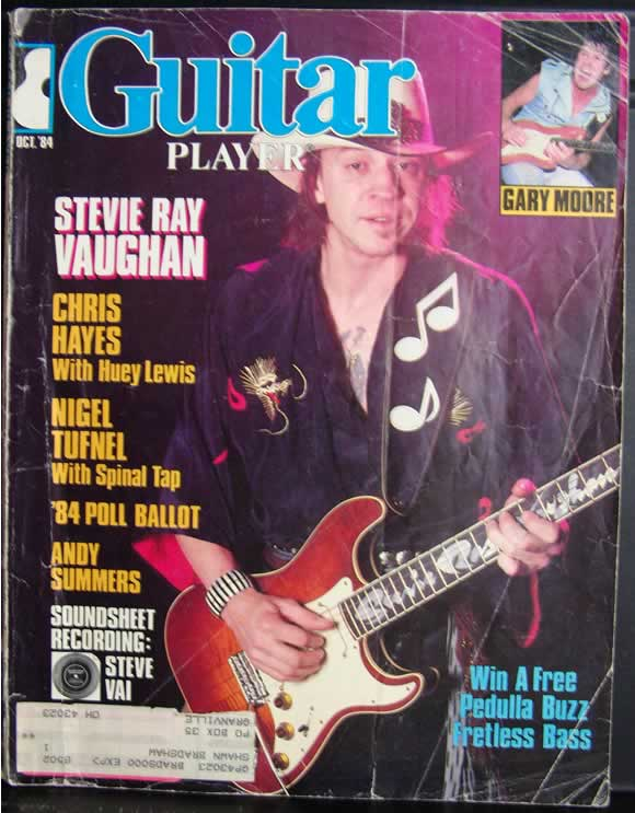 Guitar Player Magazine - October 1984 Cover