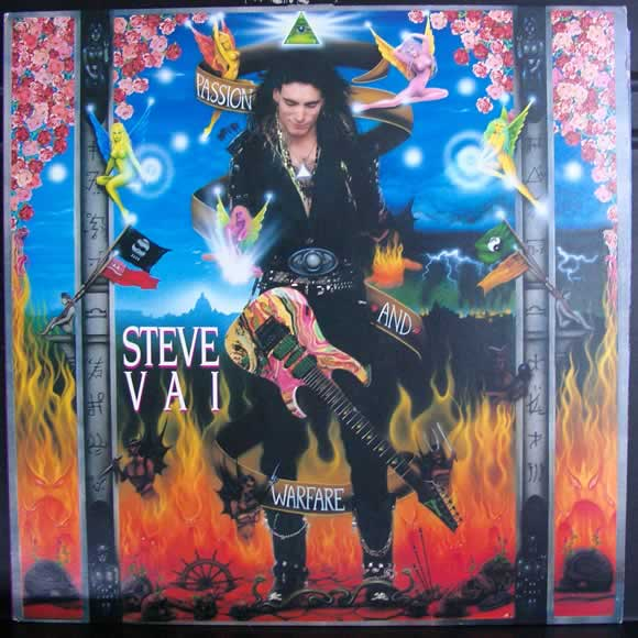Steve Vai - Passion and Warfare Album Cover
