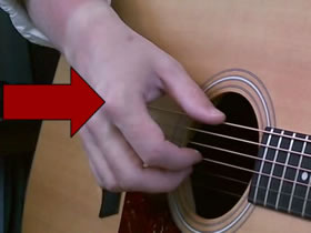 Guitar Fingerpicking Big Knuckle