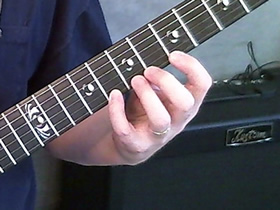Traditional Classical Left Hand Guitar Position - Front
