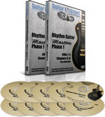 Rhythm Guitar Mastery Phase 1 DVDs
