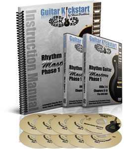 Rhythm Guitar Mastery Book & DVDs