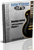 Rhythm Guitar Mastery Phase 1 Book