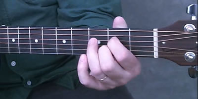 A7 Chord Picture