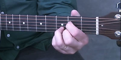 A7sus4(9) Chord Picture
