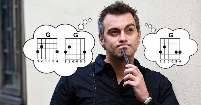 Which Basic G Chord Should You Use?
