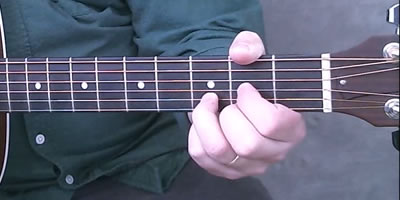 D Chord Picture