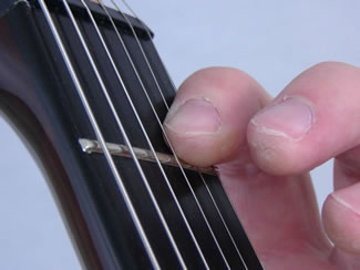 F Chord Barre First Finger