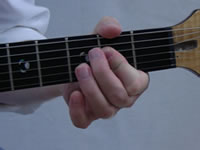 A Basic Guitar Chord Picture - Front - 2