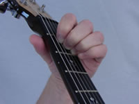 A Basic Guitar Chord Picture - Top