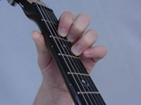G Basic Guitar Chord Picture - Top