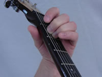 Em Basic Guitar Chord Picture - Top