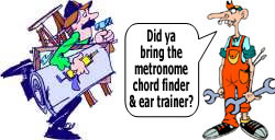 Guitar Tools Cartoon