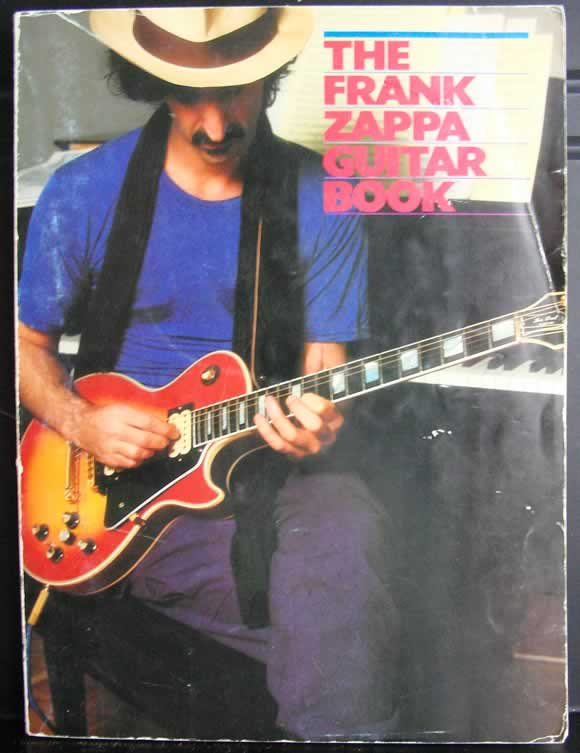 The Frank Zappa Guitar Book Cover - Steve Vai Transcriptionist
