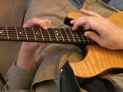Two Handed Tapping With 2nd Finger