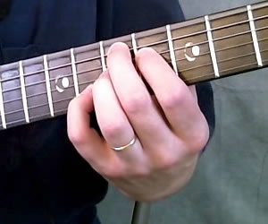 E7(#9) Chord Picture