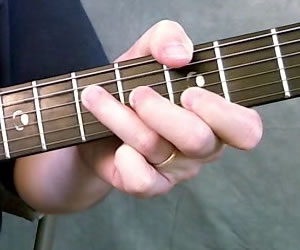 G Chord Picture