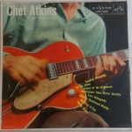 Chet Atkins Finger Style Guitar Record Cover