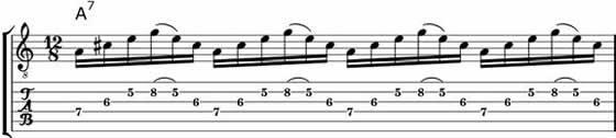 Broken Blues Arpeggios