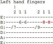 Angus Young Guitar Lick - Part 1 Tablature