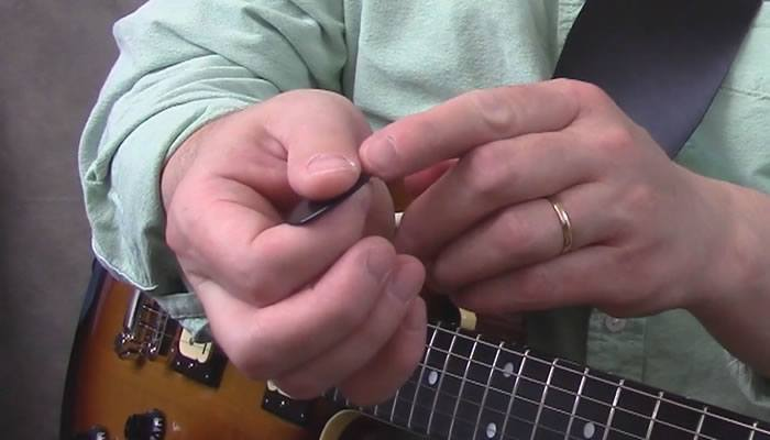 Edge of Thumb Touch Harmonic