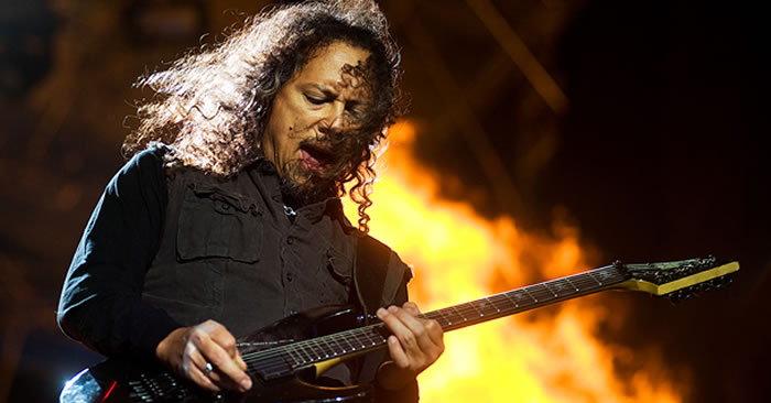 Kirk Hammett Minor Pentatonic Guitar Lick