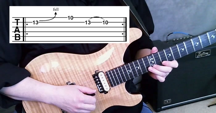 Rockin' Repeating Guitar Lick