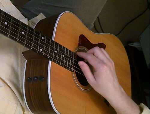 Basic Fingerstyle Strumming Up