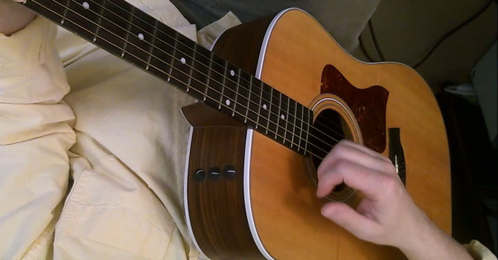 Strumming Without a Pick